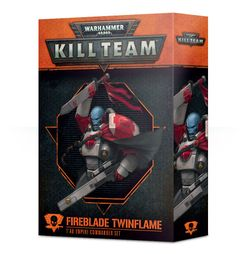 Warhammer 40,000: Kill Team – Fireblade Twinflame: T'au Empire Commander Set