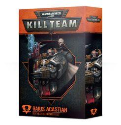 Warhammer 40,000: Kill Team – Gaius Acastian: Deathwatch Commander Set
