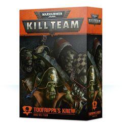 Warhammer 40,000: Kill Team – Toofrippa's Krew: Orks Kill Team