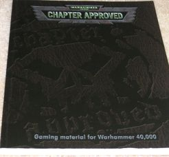 Warhammer 40,000 (Third Edition): Chapter Approved – 2001 Edition