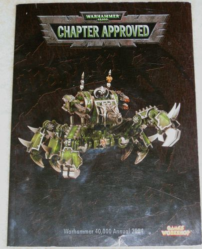 Warhammer 40,000 (Third Edition): Chapter Approved – 2004 Edition