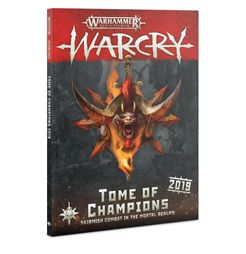 Warhammer Age of Sigmar: Warcry – Tome of Champions 2019