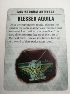 Warhammer Quest: Blackstone Fortress – Blessed Aquila Promo Card