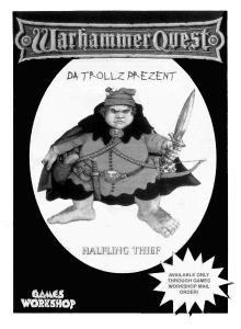 Warhammer Quest: Halfling Thief