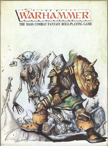 Warhammer: The Mass Combat Fantasy Roleplaying Game (1st Edition)