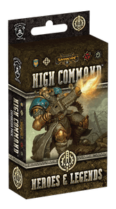 Warmachine: High Command –  Heroes & Legends