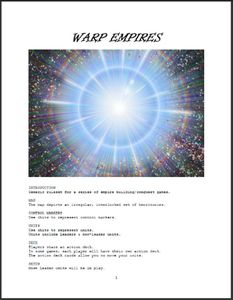 Warp Empires