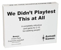 We Didn't Playtest This at All with Chaos Pack Expansion