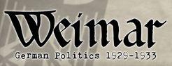 Weimar:  German Politics 1929-1933
