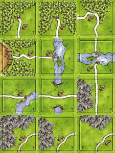 Wells: Fountain of Youth (fan expansion to Carcassonne)