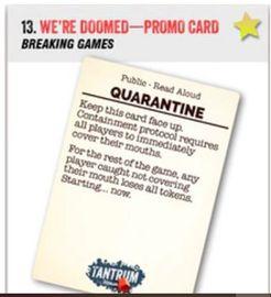 We're Doomed: Quarantine promo