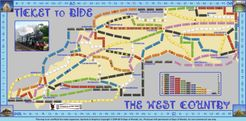 West Country (UK) (fan expansion of Ticket to Ride)