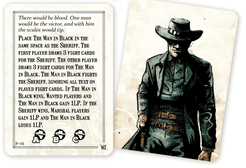 Western Legends: Man in Black Promo Card