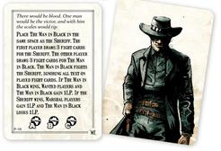 Western Legends: Man in Black Promo Card