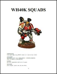 WH40K Squads