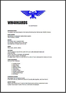 WH40KARDS
