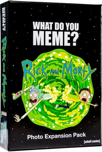 What Do You Meme? Rick and Morty Photo Expansion Pack