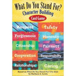What Do You Stand For? Character Building Card Game