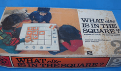 What else is in the square? advanced logic and matrix games.