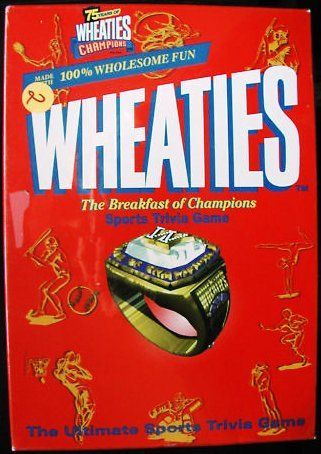 Wheaties Sports Trivia Game