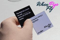 When Pigs Fly: A Card Game for Cincinnati Cynics