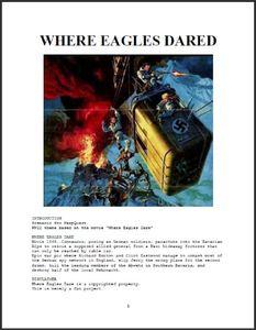 Where Eagles Dared