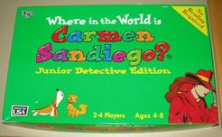 Where in the World is Carmen Sandiego? Junior Detective Edition
