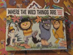Where the Wild Things Are Puzzle Maze Game