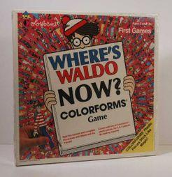Where's Waldo Now? Colorforms Game