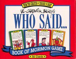 Who Said... Book of Mormon Game
