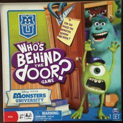 Who's Behind The Door Game? Monsters University