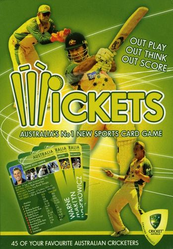 Wickets Cricket Card Game