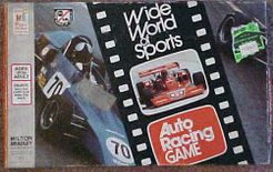 Wide World of Sports Auto Racing Game
