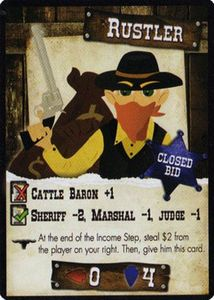 Wild Fun West: Rustler promo card