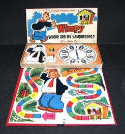 Wimpy: Where are my Hamburgers? Thimble Theater Game