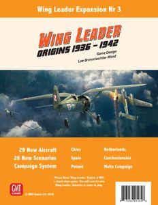 Wing Leader: Origins 1936-42