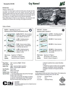 Wing Leader: Victories C3i #29 Scenarios