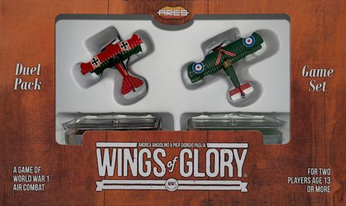 Wings of Glory: WW1 Duel Pack