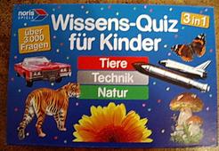 Wissens-Quiz für Kinder: Tiere, Technik, Natur