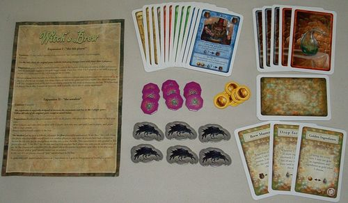 Witch's Brew: The 6th Player & The Amulets & The Magical Abilities