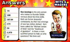 Wits & Wagers: Ken Jennings Personality Card Promo