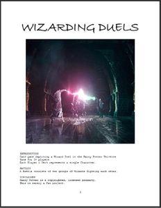Wizarding Duels