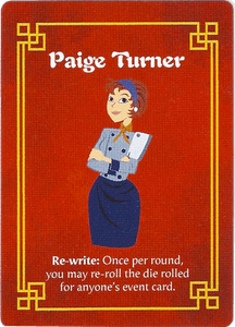Wok Star: Paige Turner Promo Character