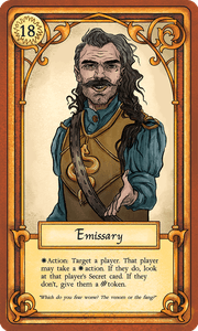 Wolves of Mercia: The Emissary Promo Card