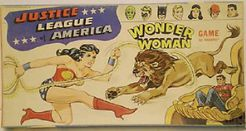 Wonder Woman Justice League of America Game