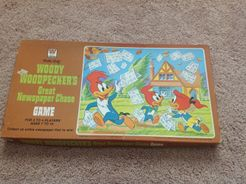 Woody Woodpecker's Great Newspaper Chase