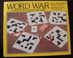 Word War: Competitive Crossword Game