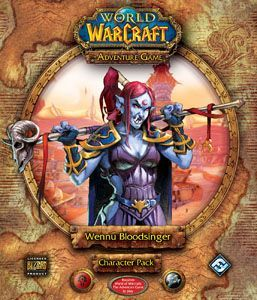 World of Warcraft: The Adventure Game – Wennu Bloodsinger Character Pack