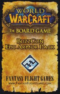 World of Warcraft: The Boardgame – BlizzCon Epic Armor Pack