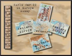 World War II in Europe Rummy